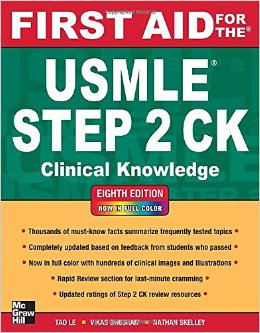 First Aid for the USMLE Step 2 CK, 8th Ed.