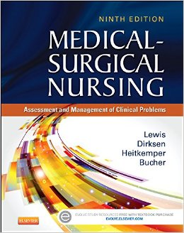 Medical-Surgical Nursing, 9th Ed., Lewis, Dirksen, Heitkemper & Bucher