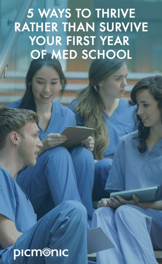 First Year of Med School: 5 Ways to Thrive Rather Than Just
