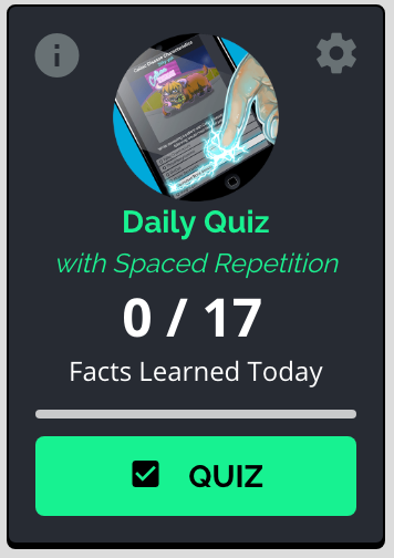 Picmonic Daily Quiz with Spaced Repetition