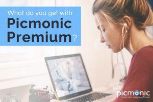 What do you get with Picmonic Premium? - Picmonic