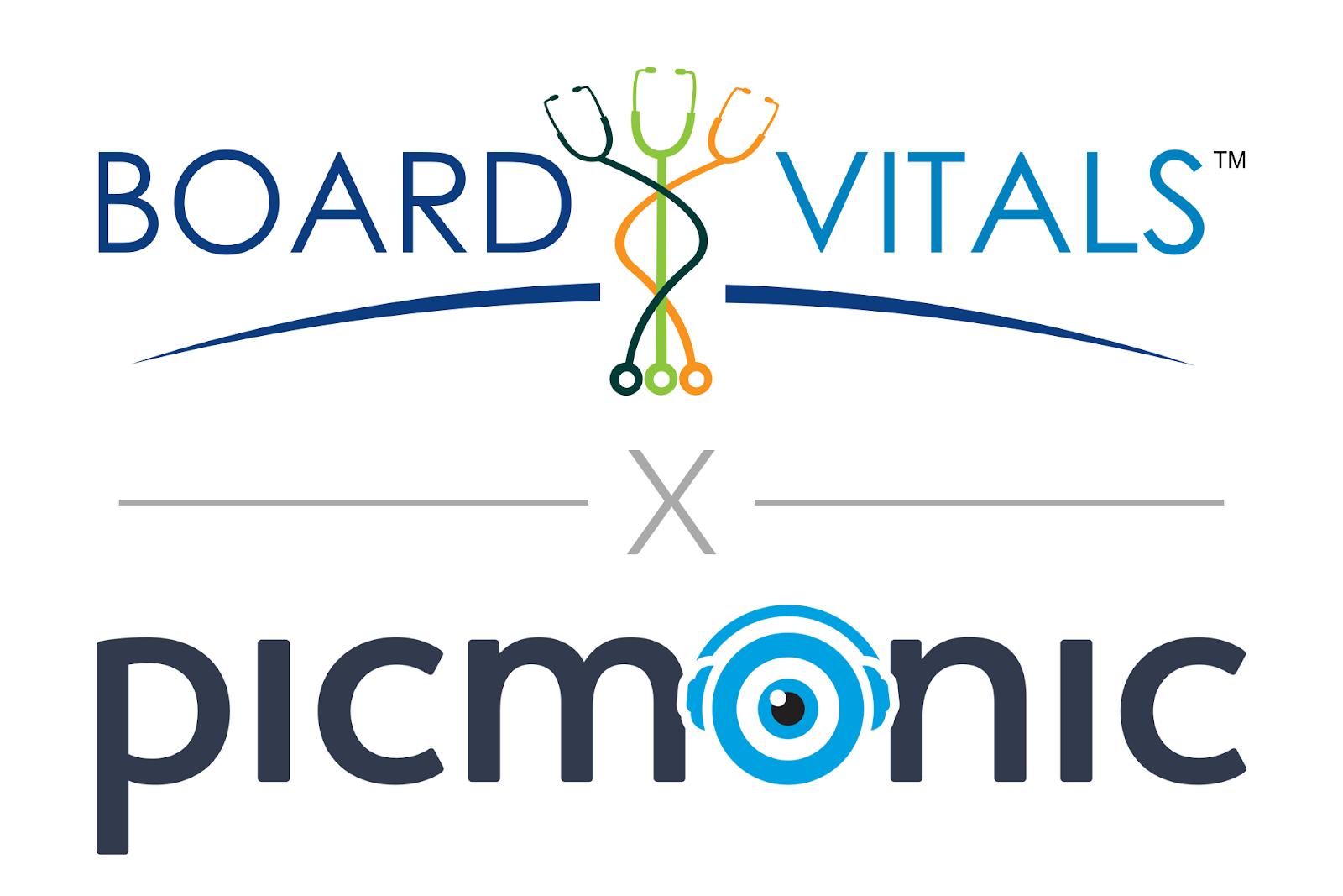 BoardVitals and Picmonic