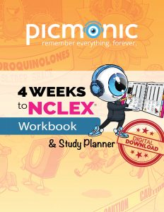 4 Weeks to NCLEX Workbook & Study Planner